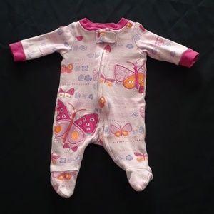 Baby Girl's Butterfly PJ